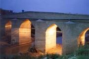 مرمت پل تاریخی آققلا تمام و عملیات نورپردازی آغاز شد
