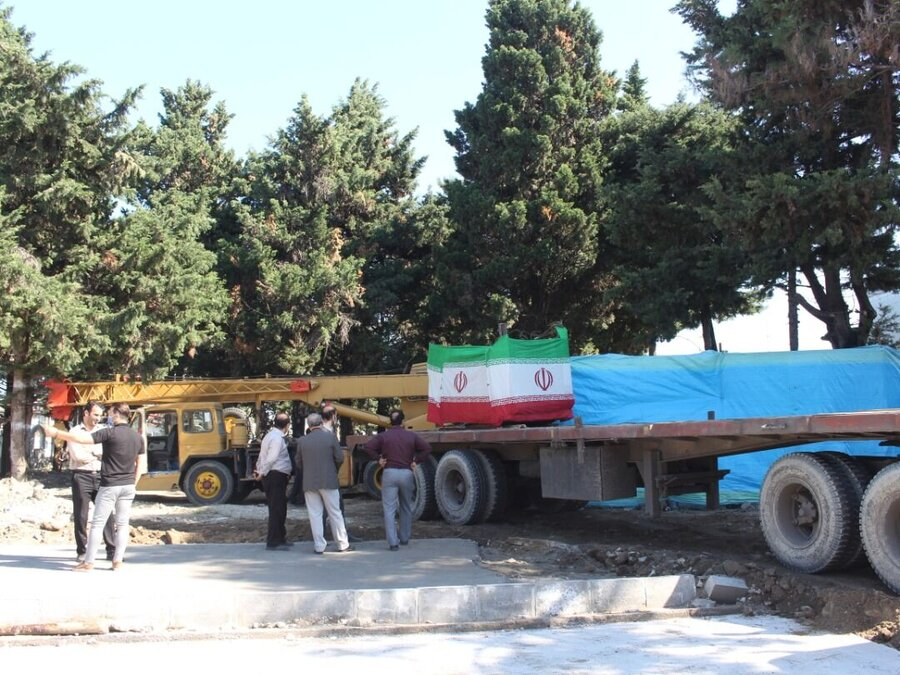 مزار نخستین شهید نوشهر