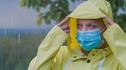 چطور در روزهای بارانی از ماسک استفاده کنیم؟
