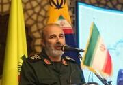 هشدار جدی جانشین فرمانده نیروی قدس سپاه به رژیم صهیونیستی