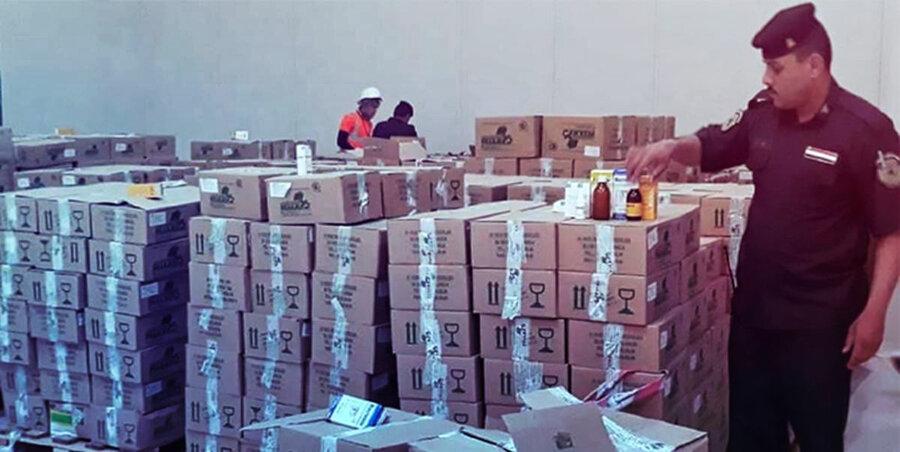 قاچاق دارو-عراق