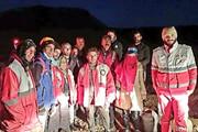 نجات سه نفر در ارتفاعات شاهجهان اسفراین