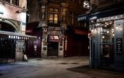 خیابانهای خاموش پاریس پس از منع رفتوآمد شبانه به علت کرونا | اجباری شدن ماسک در سوئیس