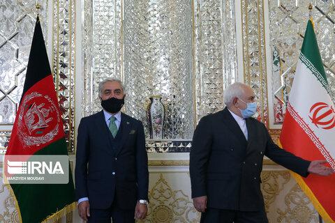 تصاویر دیدار ظریف با عبدالله عبدالله