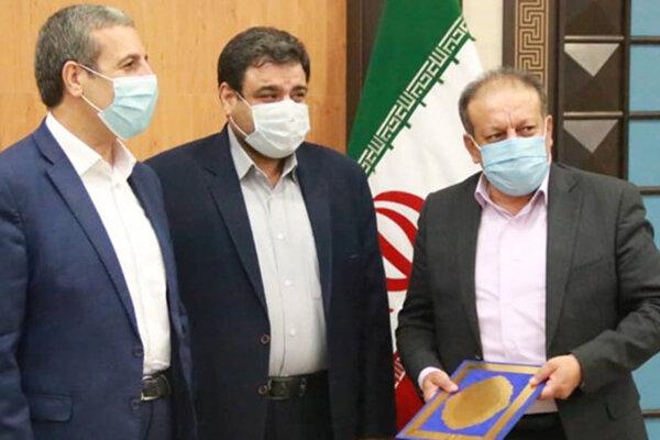 معارفه شهردار بوشهر