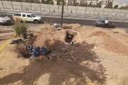 آمادهسازی نخستین مخزن آب اضطراری منطقه ۱۳