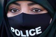 تصاویر زنان پلیس در مراسم صبحگاه نیروی انتظامی
