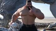 رجزخوانی هالک ایرانی برای اولین مبارزه رسمی با عکسی خوفناک | یک مبارز در حد من پیدا کنید!