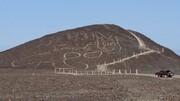 تصاویر | کشف تصویر یک گربه ۲۰۰۰ساله در خطوط نازکا در پرو