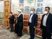 تصاویر حضور متفاوت احمدی نژاد در قم