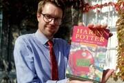فروشنده نسخه کمیاب هری پاتر آن را برای آموختن زبان خریده بود