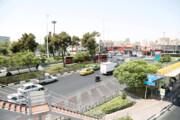 ترافیک میدان بهمن قیچی میشود