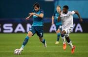 لیگ قهرمانان اروپا |  زنیت دقیقه ۹۳ زانو زد