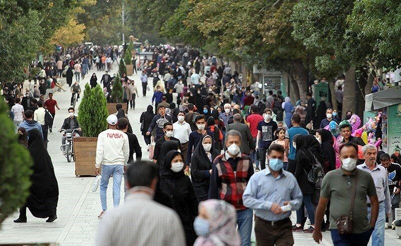 جمعیت - ماسک - کرونا