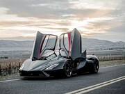تصاویر | سریعترین خودروی جهان رونمایی شد | این ماشین زیبا رکورد بوگاتی را شکست