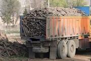 کشف ۴۵ تن چوب قاچاق در دزفول