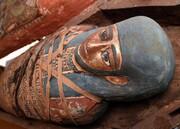 کشف مجموعه جدید تابوتهای باستانی در مصر