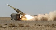 تصاویر | غرش موشک بومی باور ۳۷۳ برای اولین بار | پایان رزمایش پدافند هوایی مدافعان آسمان ولایت