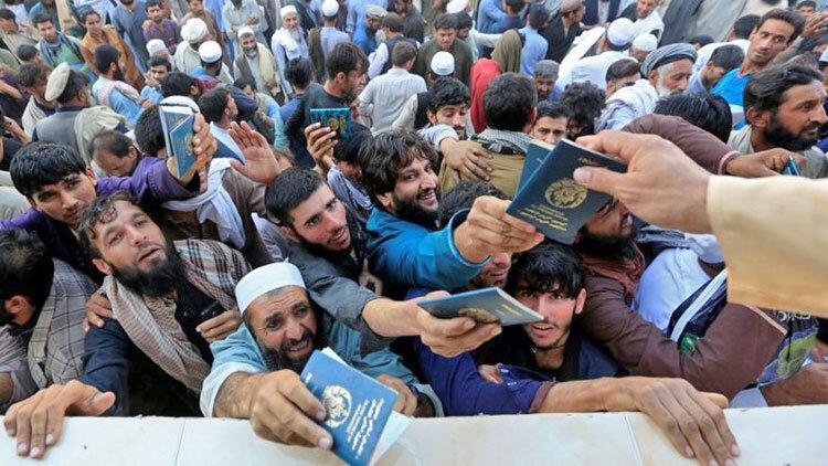 صف صدور رواديد در افغانستان