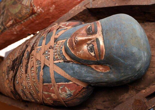 تابوتهای باستانی در مصر