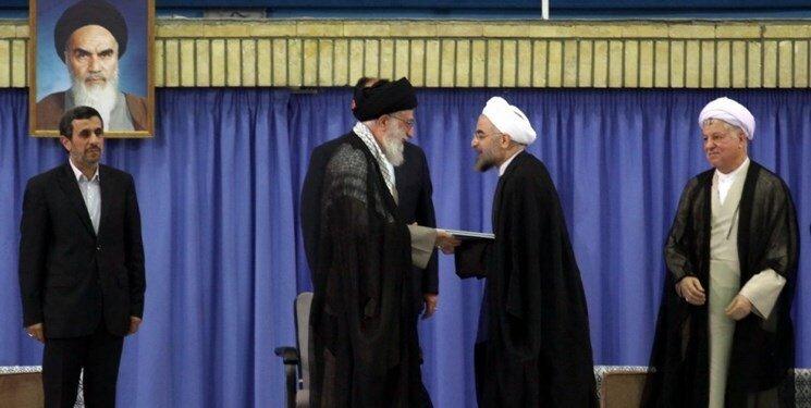 روحانی  رهبر انقلاب