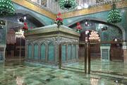 تصاویر | نورپردازی جدید روضه منوره حرم امام رضا(ع)