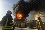 آتشسوزیدر واحد آروماتیک پتروشیمی بندر امام