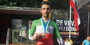 تصویر | مصدومیت شدید قهرمان دوچرخهسواری
