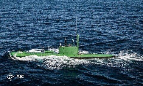 شلیک اژدر از زیردریایی فاتح برای نخستین بار در رزمایش نداجا