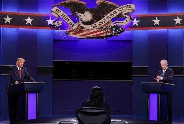 آخرین مناظره بایدن و ترامپ | از تهدید ایران تا زمستان سیاه کرونا | بایدن: فقط اسناد را نشان بده؛ بازی را تمام کن!