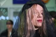 تصاویر | طراحی لباسهای خاص برای مراسم تشییع جنازه در مسکو