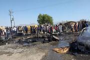 جزئیات آتشسوزی خانههای کپری در توکهور میناب