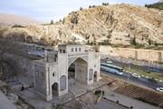 ایمنسازی دروازه قرآن شیراز در مقابل سیل احتمالی