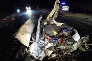یک کشته و دو مجروح در حادثه رانندگی محور نهبندان - بیرجند