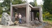 ساخت سرویس بهداشتی در بوستانها