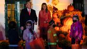 تصاویر | دونالد و ملانیا ترامپ میزبان جشن هالوین در کاخ سفید