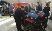 تولید خودروهای کوچک امدادرسان ویژه معابر کوچک و باریک شهری