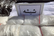 کشف ۱۰۰ کیلو ماده مخدر شیشه در راور