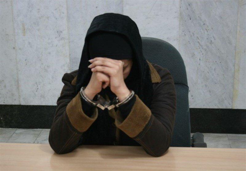 دستگیری زن