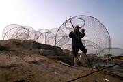 تصاویر | گرگور؛ قفسی برای صید ماهی