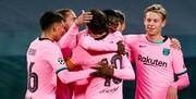 لیگ قهرمانان اروپا | پیروزی مهم بارسلونا در ایتالیا و گلباران منچستر در الدترافورد