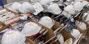 کشف ۶۰۰ هزار عدد ماسک غیربهداشتی در ساوجبلاغ