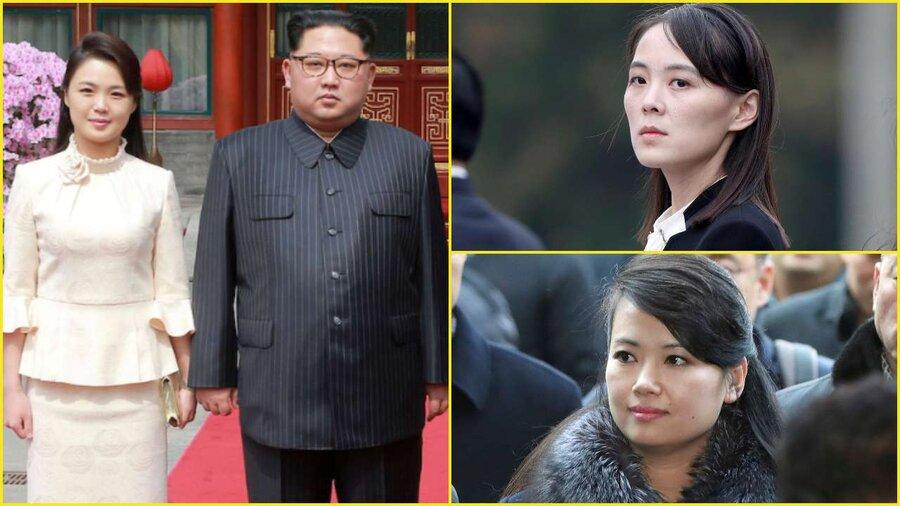 زنان تاثیرگذار زندگی رهبر کره شمالی