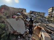 ویدئو |  نجات دو نفر از زیر آوار پس از زلزله شدید در ترکیه
