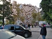 ویدئویی که شدت زلزله غرب ترکیه را نشان میدهد