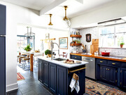 تصاویر | ۱۶ ایده کاربردی برای چیدمان دکور آشپزخانههای کوچک | از فضای کوچک خود بیشترین استفاده را بکنید