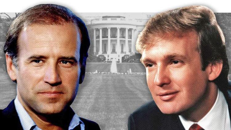 ترامپ و بایدن در گذر زمان
