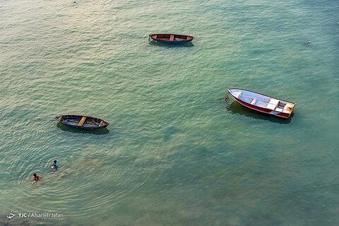 ساحل زیبای جزیره شیف