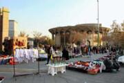 ساماندهی دستفروشان خیابان ولیعصر(عج) با اختصاص ۱۲۰ غرفه