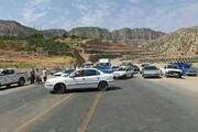 تردد خودروها در جاده کرج - چالوس ممنوع شد